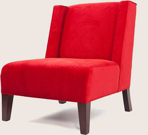 The Red State Woman chair